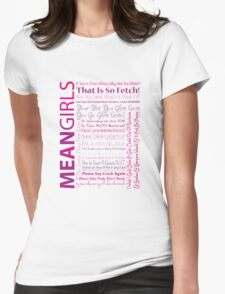 Mean Girls Best Quotes T-Shirt