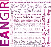 Mean Girls Best Quotes by Natalie Rowe