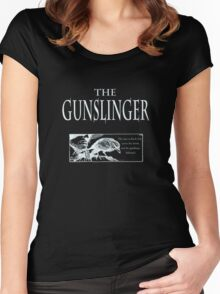 The Gunslinger (use on non white background) Women's Fitted Scoop T-Shirt
