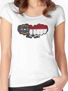 North Carolina! Women's Fitted Scoop T-Shirt