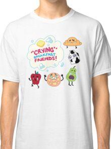 """Crying"" Breakfast Friends! // Steven Universe Classic T-Shirt"