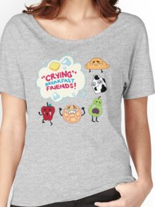 """Crying"" Breakfast Friends! // Steven Universe Women's Relaxed Fit T-Shirt"