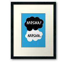 Misha Collins - TFIOS Framed Print