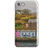 Portree Harbour iPhone Case/Skin