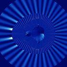 Blue Mandelbrot II by Rupert Russell