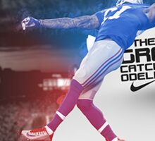 Odell Beckham Jr Greatest Catch of the Year Sticker