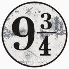 Platform 9 3/4 by emmabunclark