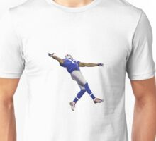 Odell Beckham Jr One Handed Catch for Apple Logo Unisex T-Shirt