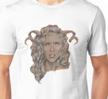 Aries ♈ Astrological Fantasy Portrait Unisex T-Shirt