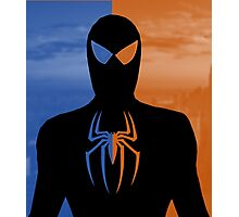 Spider Man - Day And Night Hero NY Photographic Print