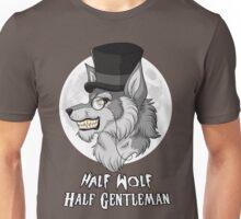 Half-Wolf Half-Gentleman Unisex T-Shirt
