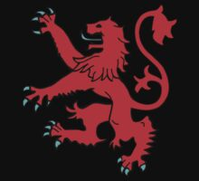 Scottish Rampant Lion by sweetsixty