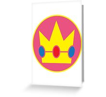 Princess Peach Greeting Card