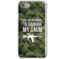 Damaging My Calm iPhone Case/Skin