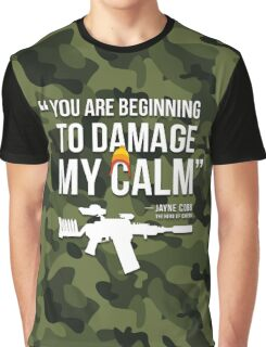 Damaging My Calm Graphic T-Shirt