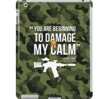 Damaging My Calm iPad Case/Skin