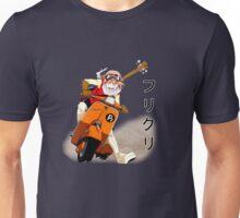 FLCL- Haruko on Vespa Unisex T-Shirt