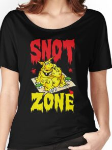 Snot Zone! Women's Relaxed Fit T-Shirt