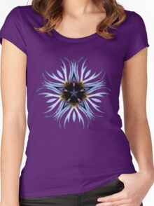 Star Kaleidoscope Women's Fitted Scoop T-Shirt