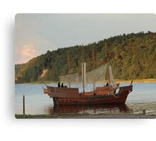 Robin Hood of the Seas Canvas Print