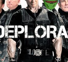 The Deplorables Sticker