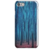 Gloomy forest iPhone Case/Skin