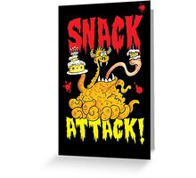Snack  Attack! Greeting Card