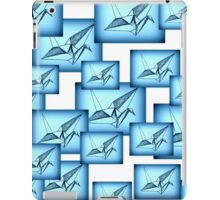 Paper Crane Collage iPad Case/Skin