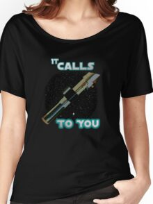 Star Wars VII The Force Lightsaber Women's Relaxed Fit T-Shirt