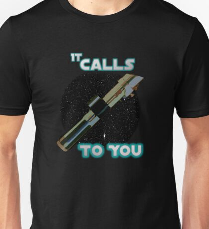 Star Wars VII The Force Lightsaber Unisex T-Shirt