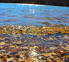 Lake Rocks and Waves by StonedOgraphy