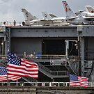 The USS Yorktown (CV10) by Mike Pesseackey (crimsontideguy)