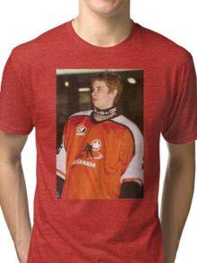 Edgy Sidney Crosby Tri-blend T-Shirt