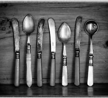 Old Cutlery by Dave Hare