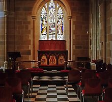 Chapel—St David's Cathedral, Hobart by Brett Rogers