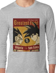 OVER 9000, CLASH VINTAGE 4 Long Sleeve T-Shirt