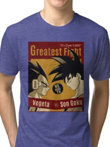 OVER 9000, CLASH VINTAGE 4 Tri-blend T-Shirt