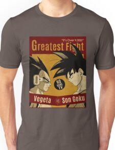 OVER 9000, CLASH VINTAGE 4 Unisex T-Shirt
