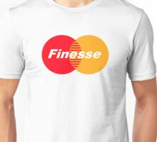 FINESSE UR CREDIT CARD COMPANY FUCK MASTERCARD Unisex T-Shirt