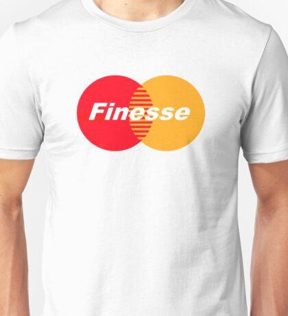 FINESSE UR CREDIT CARD COMPANY FUCK MASTERCARD Unisex T-Shirt