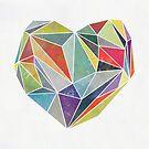 Heart Graphic 5 by Mareike Böhmer