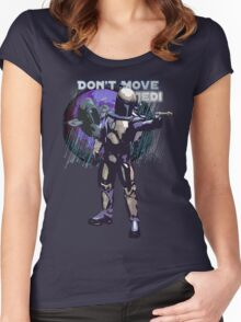 Bounty Hunter Jango Fett Women's Fitted Scoop T-Shirt