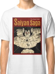 OVER 9000, SAIYAN VINTAGE 4 Classic T-Shirt