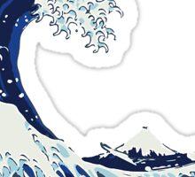 Surf waves, Sticker