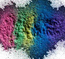 Chalk Dust Splatter Sticker