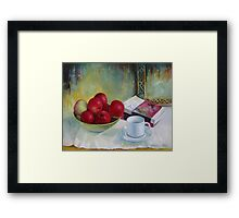 Summer apples Framed Print