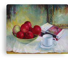 Summer apples Canvas Print