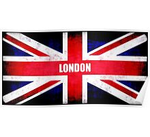 United Kingdom-London Flag Poster