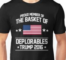 Proud Member of The Basket of Deplorables - Trump 2016 Jersey Unisex T-Shirt