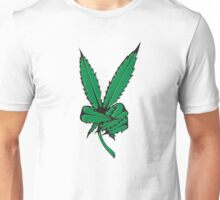 WHAT IS THIS A FUCKING WEED PEACE SIGN Unisex T-Shirt